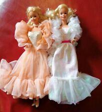 Vintage Barbie Dolls Crystal barbie and Peaches n Cream