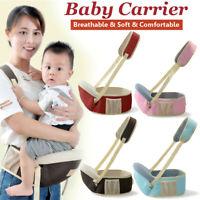 Baby Front Carrier Waist Stool Walker Kids Carry Sling Hold Belt Infant Hip