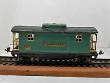 """LIONEL """"O"""" GAUGE PRE-WAR  #817 CABOOSE - AS FOUND -  COMPLETE - VERY GOOD COND."""