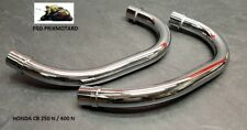 Honda CB 400 n Paar Rohrbogen Auspuff
