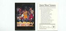 Earvin Magic Johnson 1992 Investor's Journal Card with Michael Jordan #31