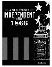 """Jack daniels """"registered As Indepenant"""" Poster 18 By 24"""