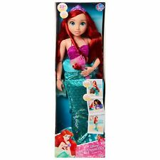 "NEW Disney Little Mermaid Princess 32"" Poseable My Size Doll ARIEL"