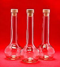 10 Leere GLASFLASCHEN TUL-HGK 200ml Likörflaschen Schnapsflaschen mit Verschluss