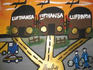 GOODFELLA HENRY HILL ORIGINAL ARTWORK MOBBED UP LUFTHANSA HEIST  8 MILLION