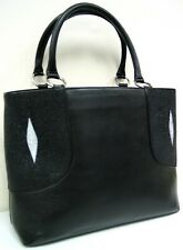 Genuine Stingray Leather Large Handbag (02-431)