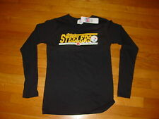 TEAM NFL Pittsburgh STEELERS Football  Women JUNIOR T-Shirt NEW  sz..  LARGE