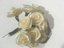 bouquet de 12 Mini rose Fleurs Artificielles Art Déco de Table mariage 1,5cm env