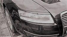 AUDI A6 C6 S6 eyebrows Eyebrows Headlight Lids Eyelids Brows 2004-2011