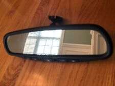 04-06 Nissan Maxima OEM rear view mirror with homelink and compass # E11015633