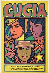 Cuban Poster. Lucia, 1968. Poster by ICAIC. Measures: 11 x 17