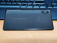 Original Xiaomi Mi Mix 2s ceramic back cover, complete with camera lens, black