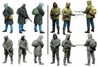 1/35 Resin Zombie War Stalkers 2 Soldiers Unassembled Unpainted BL708