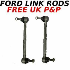 Front ALLOY Anti-roll Bar Link Rods Ford Stabiliser Drop Link Rods Sway Bar x 2