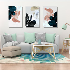 Painting Leaves Nordic Wall Art Pictures Posters For Bedroom Home Decor 30x40cm