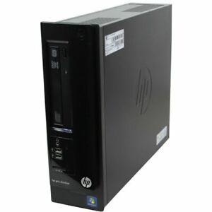 HP Pro SlimLine 3300 DT i3-2120 3.3GHz 6GB 500GB HDD DVD Win10 PC