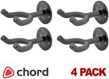 4 x Chord Metal Wall Mount Guitar Display Bracket hanger Holder Stand UK