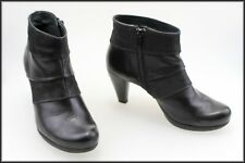 HISPANITAS MADE IN SPAIN WOMEN'S HIGH HEEL ANKLE BOOTS SIZE 5 AUST MARKED 36 EUR