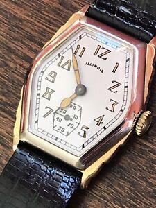 Vintage 1929 Illinois Ritz Two Tone 17j 14kgf Ex Condition