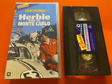 Disney's Herbie Goes To Monte Carlo VHS - Rare Collectors