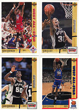 1991-92 Upper Deck San Antonio Spurs team set Gem Mint razor sharp Robinson