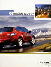 2007 Mazda CX-7 crossover new vehicle brochure - 1st edition