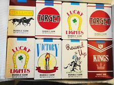 """WORLD'S """"BUBBLE GUM CIGARETTES"""" FOUR PACKS FREE SHIPPING"""