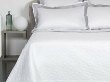 **Frette White King Lux. Zen Quilt BRAND NEW Made in Italy**