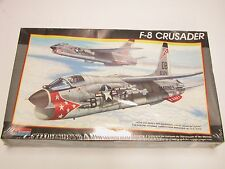 1:48 Monogram Revell F-8 Crusader Plastic Scale Model Kit New 1988 M SEALED