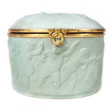 "Antique Large Chamqrt Limoges Trinket Box 3.75"" x 5.50"""