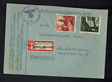 1941 Czortkow Poland Germany GG Censored Customs cover to Defense Office Krakow