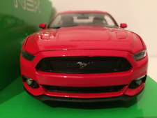 Ford Mustang GT 2015 Red Scale 1:24 Welly 24062R NEW