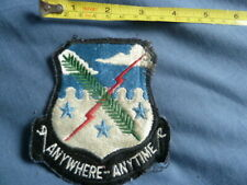 More details for united states air force, special operations, anywhere anytime, cloth patch