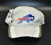 Buffalo Bills Twins Enterprise Vintage 90's Striped Brim Snapback Cap Hat - NWT