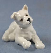Westie Terrier Hutschenreuther figur Hundefigur  porzellan porzellanfigur