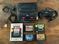 Sega Mega Drive 2 with Controller / 7 Games / All Leads