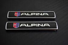 2Pcs Auto Car Emblem Badge Sticker Decal Black for BMW Alpina M3 M5 X3 X5