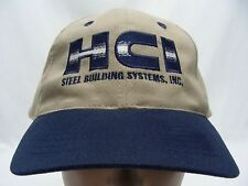 HCI - STEEL BUILDING SYSTEMS - EMBROIDERED - ADJUSTABLE BALL CAP HAT!