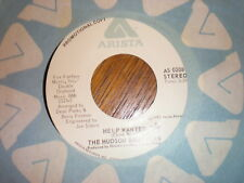The Hudson Brothers 45 Help Wanted PROMO ARISTA