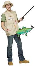 Catch Of The Day Fishing Adult Costume Fisherman Halloween Dress Rasta Imposta