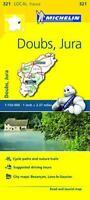 Doubs, Jura Michelin Local Map 321 (Michelin Local Maps) by Michelin, NEW Book,