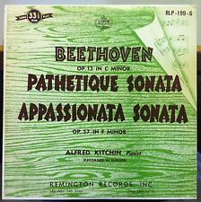ALFRED  KITCHIN beethoven pathetique sonata LP VG+ RLP-199-6 Remington US 50s