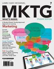 MKTG Student Edition by McDaniel, Hair & Lamb (2013, Paperback) MARKETING
