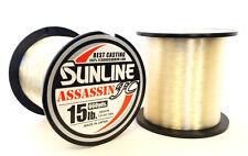 Sunline Fishing Line - Sunline Assassin Fc Fluorocarbon Clear Fishing Line 660Yd