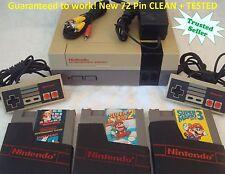 Nintendo NES Console System Bundle NEW PIN Game lot Super Mario 1 2 3 TRILOGY!