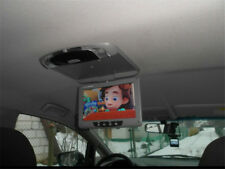 TFT LCD Color Monitor Flip Down Screen Multimedia Video Car Roof mount Display