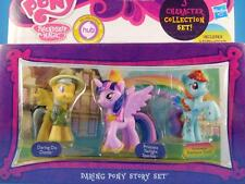 My Little Pony *DARING PONY STORY SET* Daring Do & Twilight & Rainbow Dash -NIP-