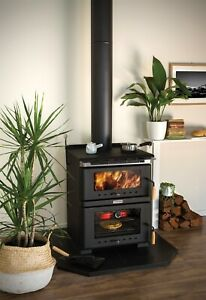 Bare Outdoors Freestanding Wood Fire Heater with Bakers Oven & Cook Top