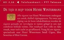 Telefoonkaart / Phonecard Nederland CRD501 ongebruikt - Henri Wintermans