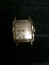 Filled Watch For Parts Vintage Wittnauer Geneve Swiss Gold